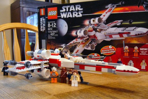 LEGO X-Wing and Crew