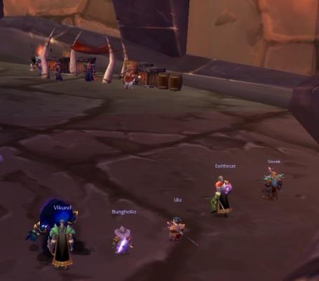 Hellfire Ramparts, Feb. 2008