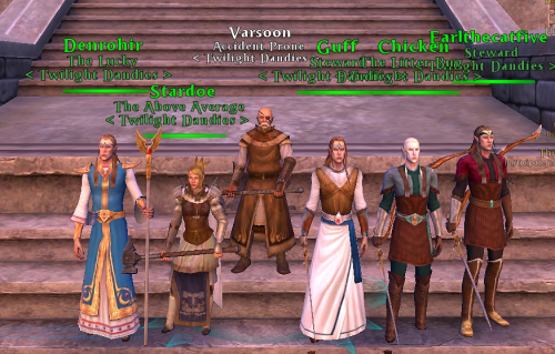 The instance group in Warhammer