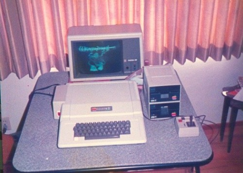Apple II+ In It's Natural State