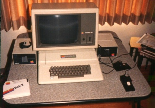 Apple II+ on Day One