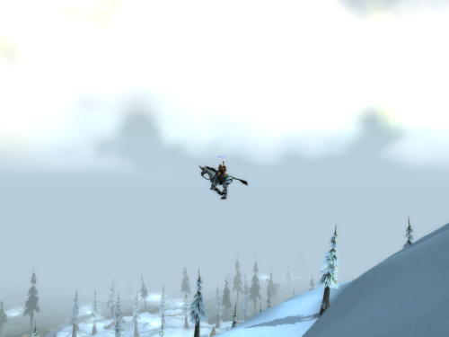 Not A Flying Mount