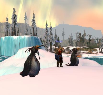 Howling Fjord Penguins