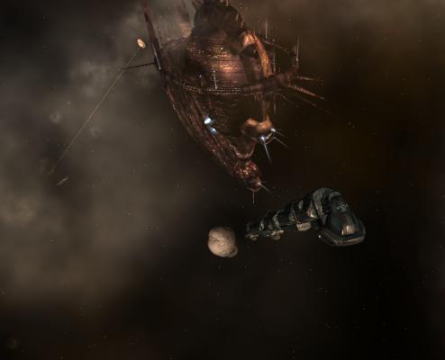 Iteron V hauling ore