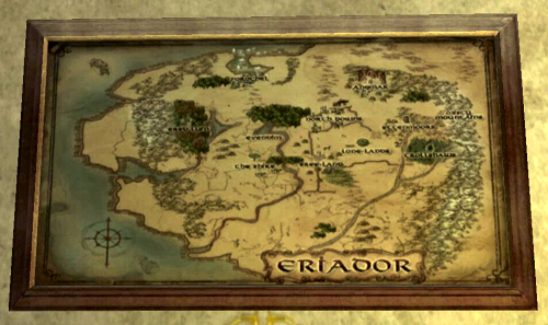 Map of Eriador