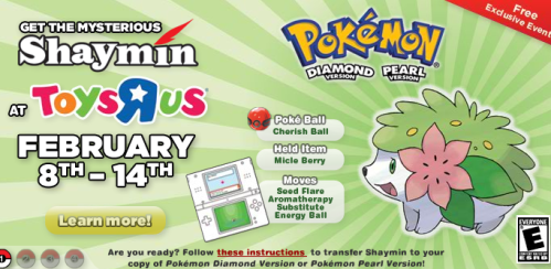 Shaymin Event