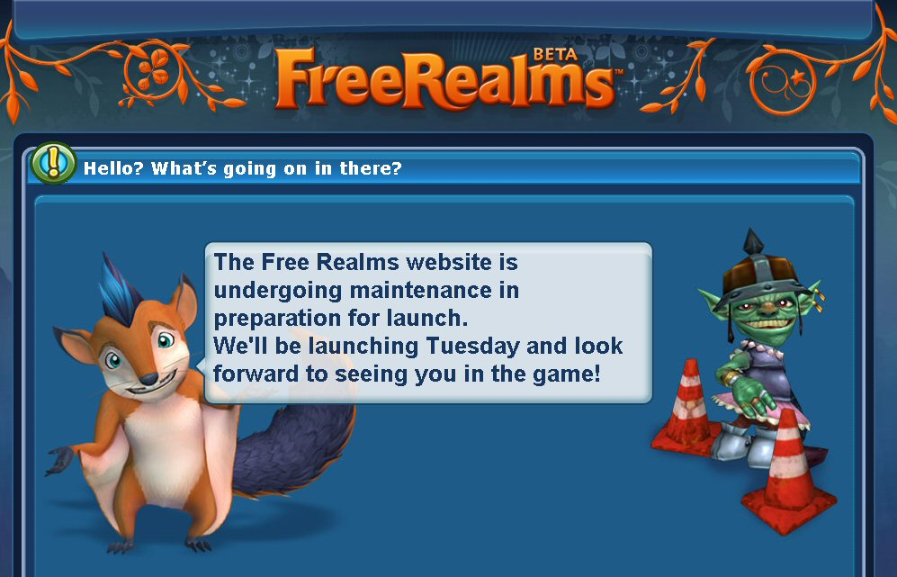 Free realms the ancient gaming noob