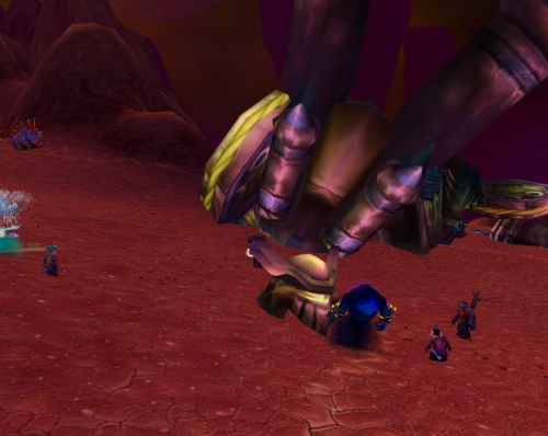 """Fel"" down, did he?"