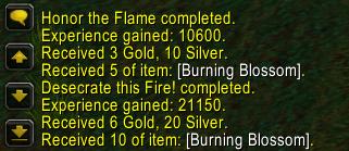 Level 76 Quest Rewards
