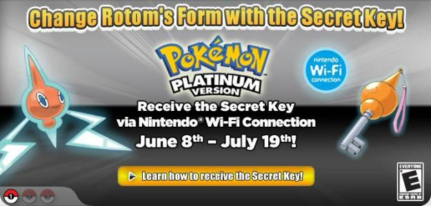 Rotom Key on WiFi