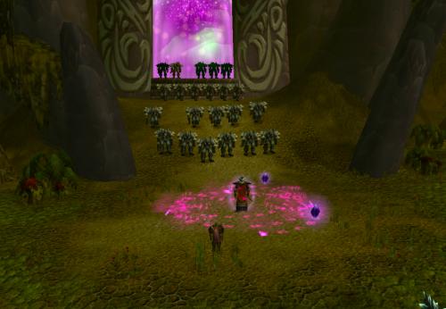 Orcs through the portal