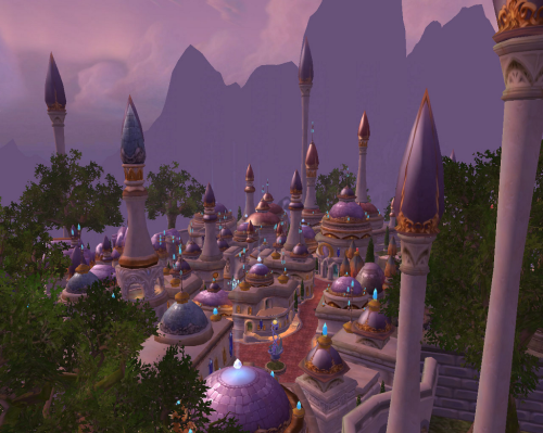Let us fly to Dalaran!