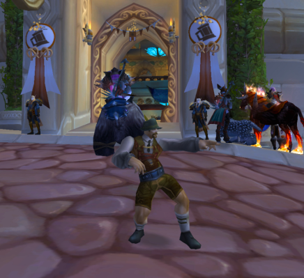 Getting wild at Brewfest