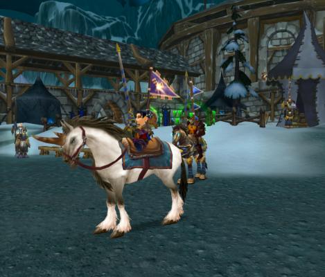 Gnome Mounted