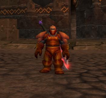 Vikund Transformed into a Dark Iron Dwarf