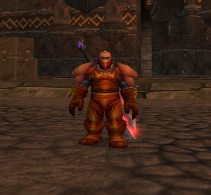 Vikund Transformed into a Dark Iron Dwarf