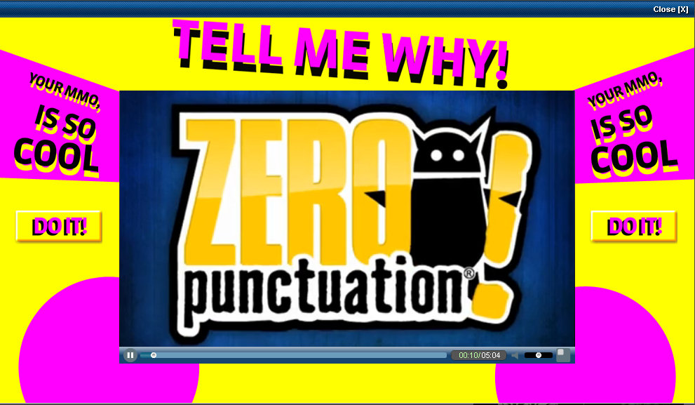 Zero Punctuation The Ancient Gaming Noob