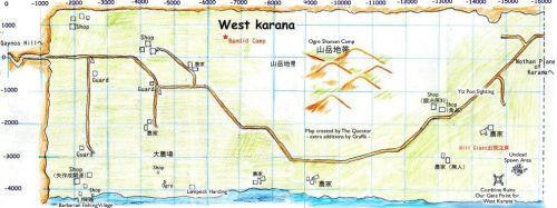 West Karana all on One Map