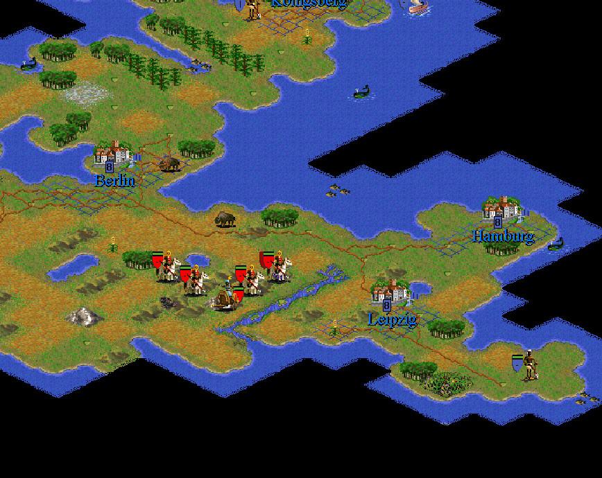 Running Civilization II on Windows 7 64-bit (4/5)