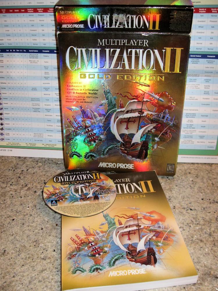 Running Civilization II on Windows 7 64-bit (1/5)