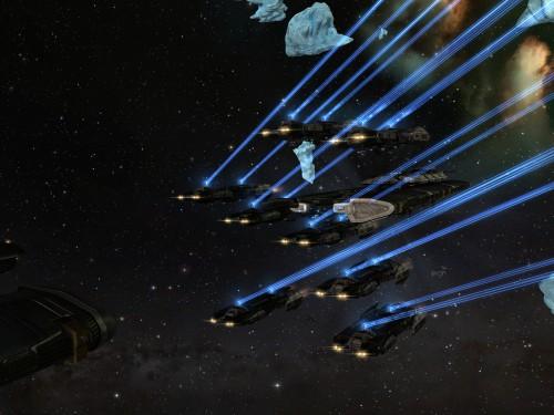 Pretty blue lasers