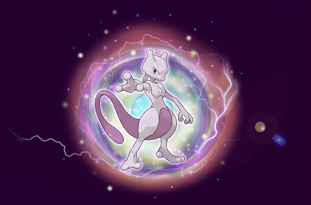 Mewtwo Available for Download from Nintendo February 12, 2012