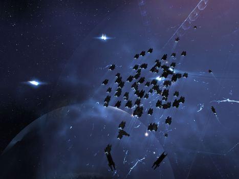 Drake Fleet in action in Tenal