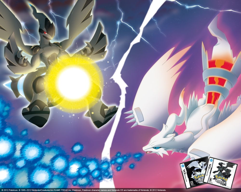Reshiram and Zekrom Download Event for Pokemon Black and White (1/3)