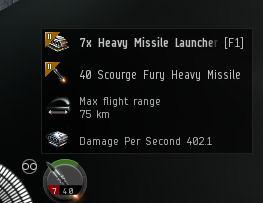 Heavy missile skills