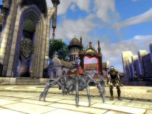"The spider mount is his ""look"""