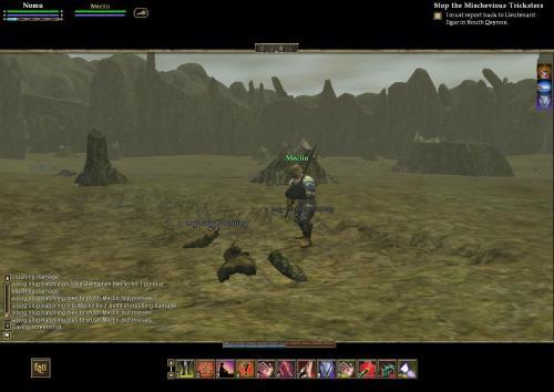 My earliest screen shot of EQ2 - Nov. 14, 2004