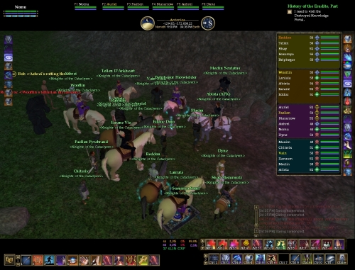 Almost everybody in this raid went off to WoW