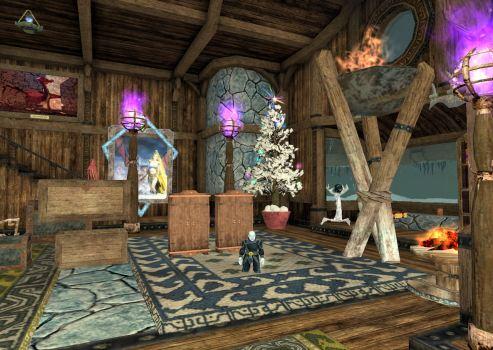 Sigwerd's living room