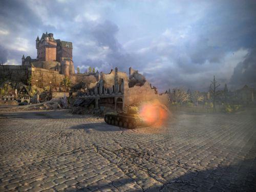 KV-1 blasts away!