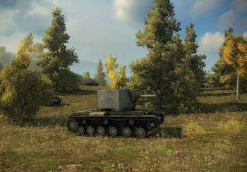 A stock KV-2