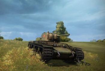 A fresh KV-1