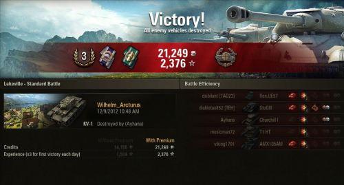 KV-1 like a champ!