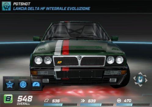 Potshot Xmas Lancia