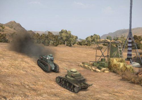 Potshot and I battle on El Halluf