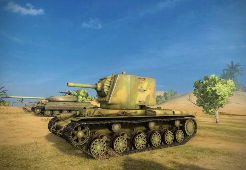 122mm KV-2