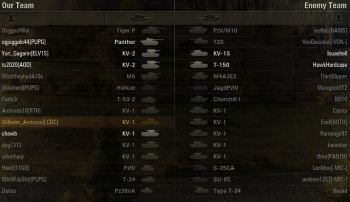 A lot of KV-1 heavies