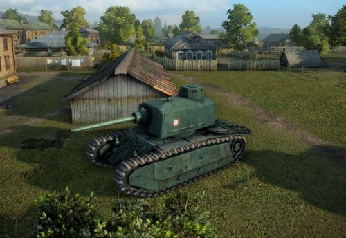 The new ARL 44 in its first battle