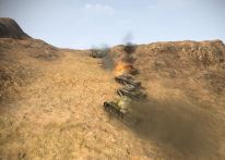 KV-3, T-43, and Cromwell working together