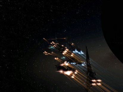Homeland Defense Fleet Undocks
