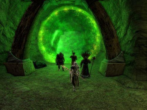 In through the green portal