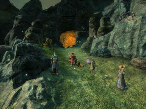 The group in King's Breach