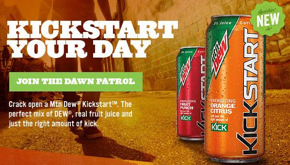NOT the official drink of Kickstarter