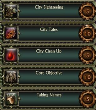 City Core Achievements