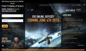 New EVE Launcher