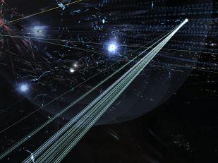 Converging beams